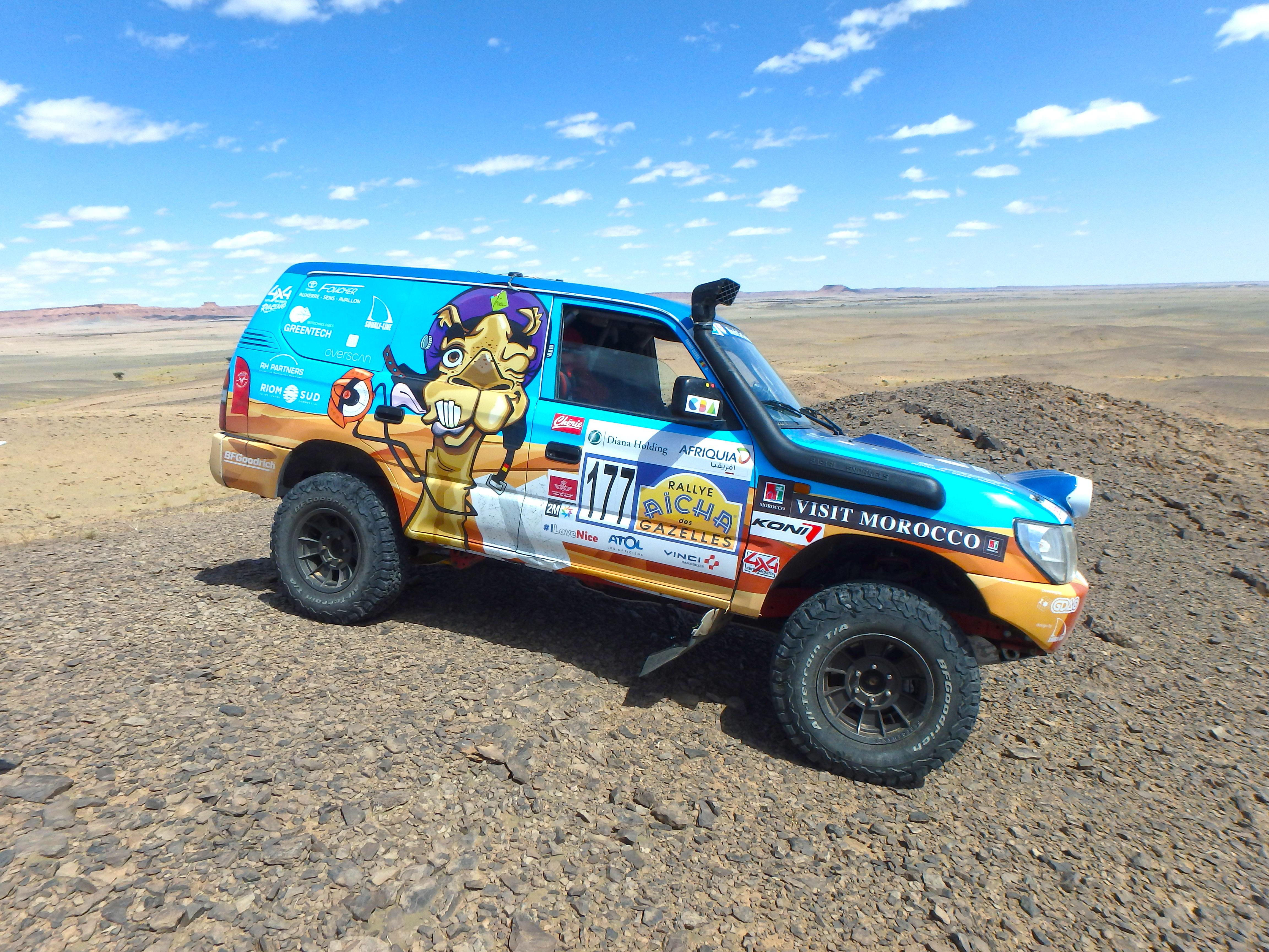 Rallye des Gazelles cap medina - 4X4