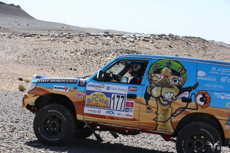 Rallye des Gazelles cap medina - 4X4 maroc